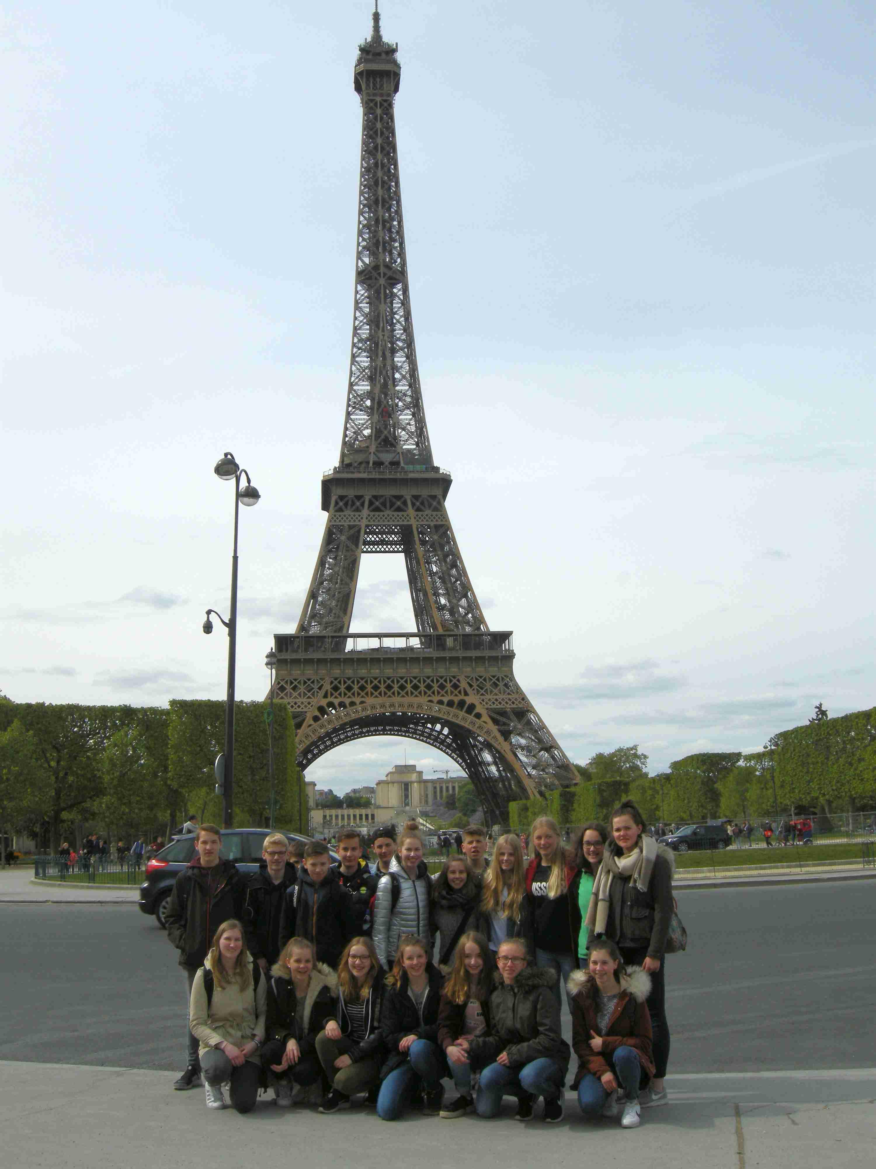 Frankreichaustausch der 8. Klasse